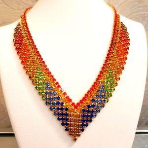🌈Natasha Rainbow Necklace